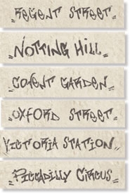 Декор Ins. Streets s/6  Notting Hill (Gesso)