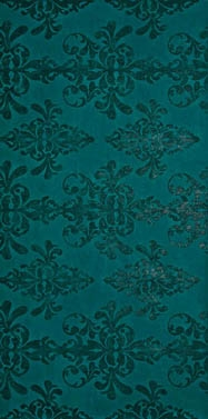 Декор Ewall Petroleum Green Damask 8EDH