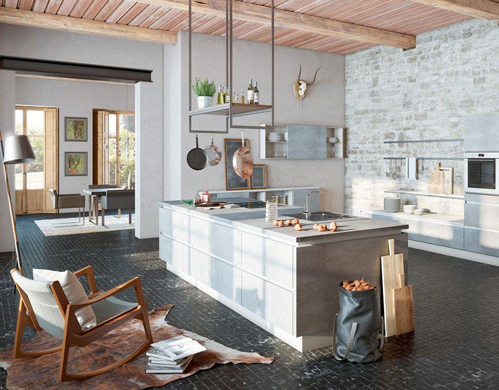 Kucheninsel Mit Sofa Idee Einrichtung