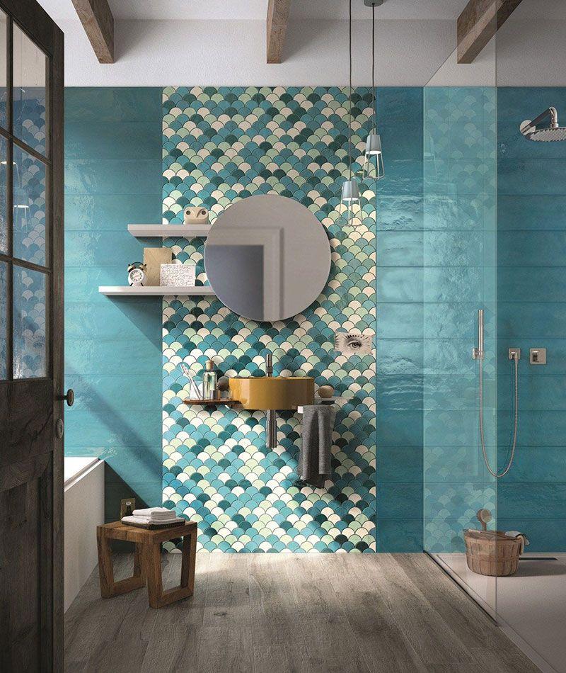 Керамогранит в дизайне ванной комнаты
