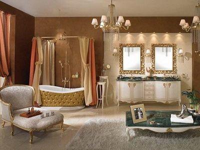 Стиль ампир прекрасно подходит для оформления гостиниц, отелей...