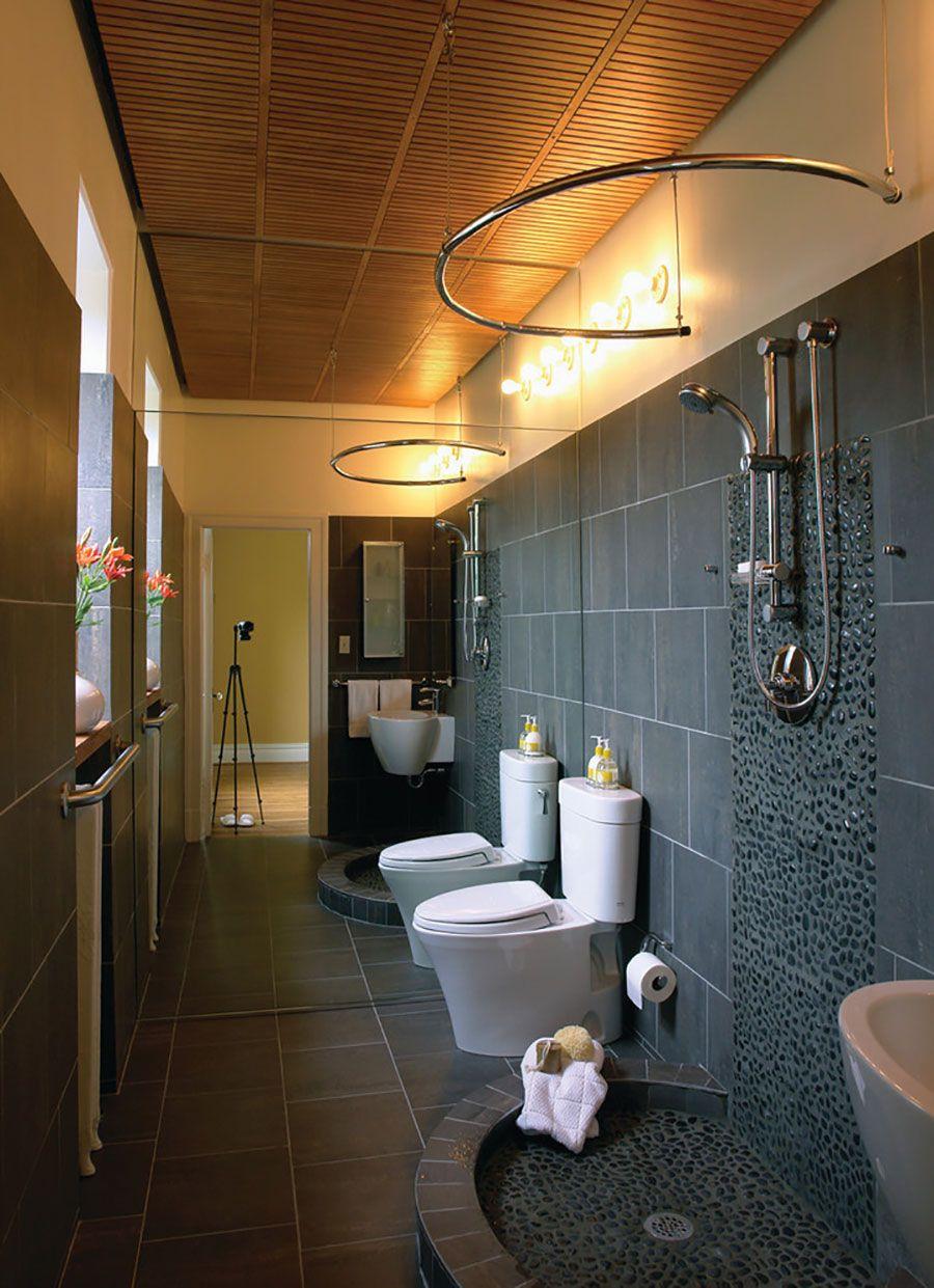 Дизайн ванных комнат без ванной