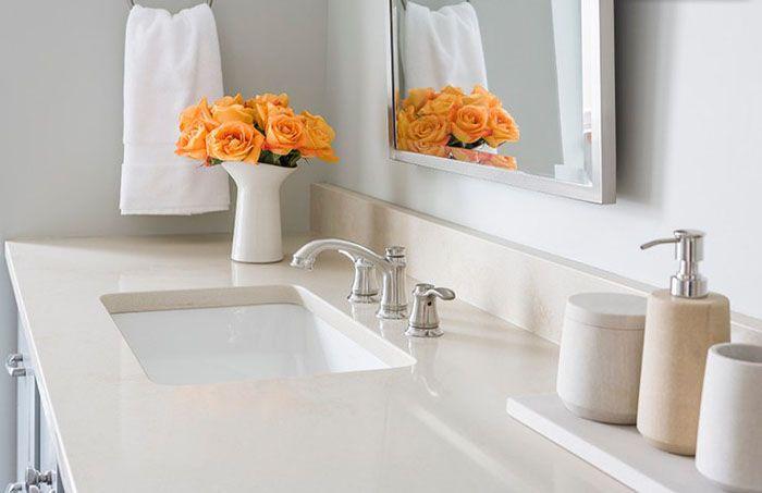 Bathroom countertops materials