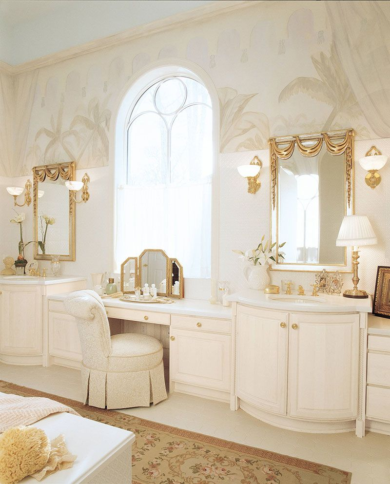 Bathroom vanity stool