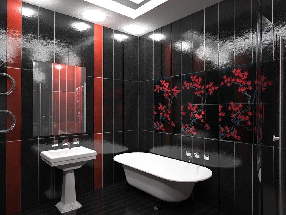 Плитка для ванной комнаты к квартире дизайн