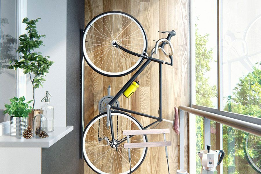 Как хранить велосипед на балконе зимой и можно ли хранить.