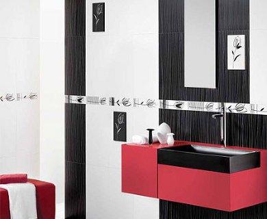 черно-белая коллекция плитки NOBEL от Peronda