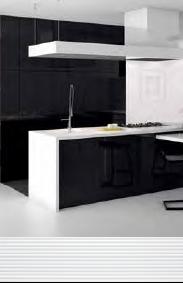 Черно-белая плитка Calypso Black&White