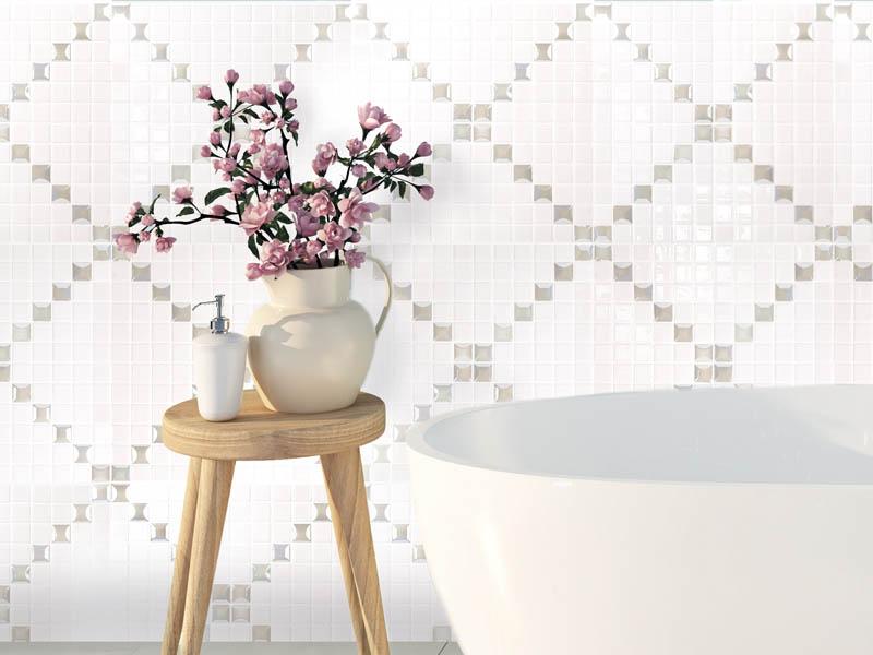 мозаика из стекла keramogranit.ru