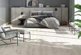 Спальня мечты, оформленная с помощью керамической плитки