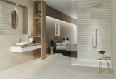 Дизайн ванной комнаты на базе последних тенденций в сфере керамики