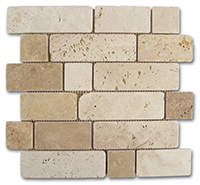 Мозаика Mosaico Travertino Brick (184996)