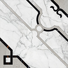 Керамогранит Marble Trend Carrara K-1000/MR/d01-cut