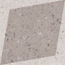 Керамогранит DROPS NATURAL RHOMBUS DECOR TAUPE (108806)