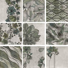 Настенная плитка Decor Zen Verde