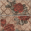 Декор CHICAGO ins. Vintage Roses S/2 OLD