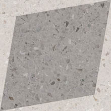 Керамогранит DROPS NATURAL RHOMBUS DECOR GREY (108805)