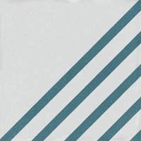 Керамогранит BOREAL DASH DECOR WHITE BLUE (107205)