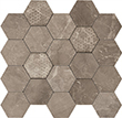 Мозаика HEXAGON SUPREME GREY LEV (02618)