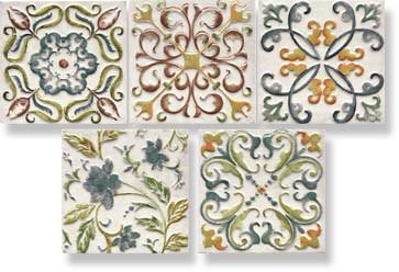 фото Декор DECOR BAMBOLA 15x15  разноцветная цвет, восточный, средиземноморский стиль от Mainzu (Испания)