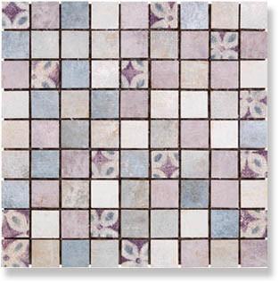 фото Мозаика PIETRA DI VOLTA Mosaico Cold 30x30 пэчворк, современный, средиземноморский стиль от Alta Ceramica (Италия)