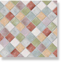 фото Плитка PIETRA DI VOLTA Mix P. Volta 7 Сolori 10x10  разноцветная цвет, пэчворк, современный, средиземноморский стиль от Alta Ceramica (Италия)