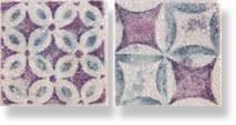фото Декор PIETRA DI VOLTA Decoro next c. Patchwork cold LUX  (комп/2шт) 10x10 пэчворк, современный, средиземноморский стиль от Alta Ceramica (Италия)