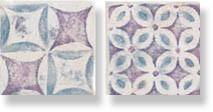 фото Декор PIETRA DI VOLTA Decoro next c. Patchwork cold  (комп/2шт) 10x10 пэчворк, современный, средиземноморский стиль от Alta Ceramica (Италия)