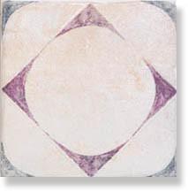 фото Декор напольный PIETRA DI VOLTA Pavimento cold B 20x20  бежевый цвет, пэчворк, современный, средиземноморский стиль от Alta Ceramica (Италия)