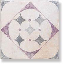 фото Декор напольный PIETRA DI VOLTA Pavimento cold A 20x20  бежевый цвет, пэчворк, современный, средиземноморский стиль от Alta Ceramica (Италия)