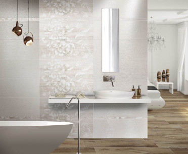 Плитка ABSOLUTE PLUS от Ceramiche Brennero (Италия) в интерьере, стиль: классический, романтизм, современный