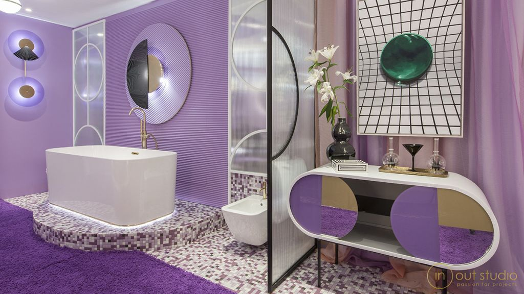 Проект «Violet Bliss» для выставки Marbella Design Fair 2019