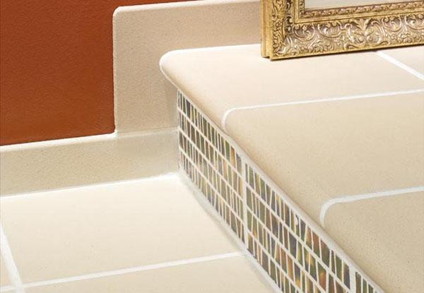 Клинкерные белые ступени BLANCO NATURAL